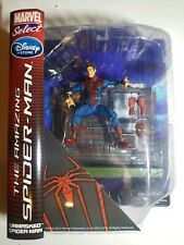 🔥Marvel Select The Amazing Spiderman Unmasked Spiderman Disney Store Figure