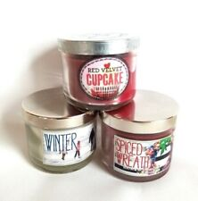 3-Pack of Bath and Body Works Assorted Scented Candles