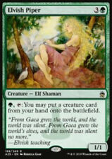 MTG ELVISH PIPER FOIL EXC - PIFFERAIO ELFICO - A25 - MAGIC
