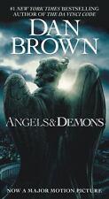 Angels & Demons Dan Brown 2009 Paperback Book ACTION SUSPENSE Novel