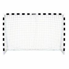 Best Sporting Fußballtor Soccer 300 x 160 x 90 cm, schwarz-weiß, Netz weiß