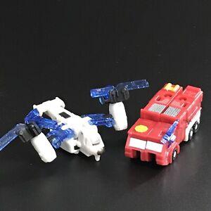 "Transformers Armada Emergency  Mini-Con Team Makeshift And Firebox 2-3"" Figures"
