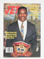 "EVANDER HOLYFIELD signed ""JET"" MAGAZINE NOV 19 1990 - COMPLETE GREAT SHAPE - WOW"
