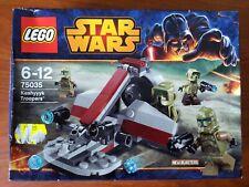 Lego 75035 Star Wars KASHYYYK TROOPERS battle pack new in sealed box HTF Rare