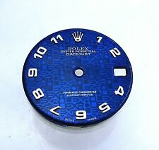 24mm Rolex 68274 Factory Blue Ladies President Datejust Watch Anniversary Dial