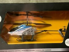 BRAHA 3.5 Channel Durable and Rechargeable White RC Helicopter