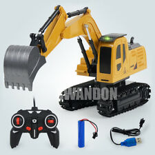 Remote Control Digger Truck 6Ch Toy RC Excavator Radio Controlled Construction