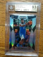2019 Panini Prizm Draft Picks Silver Zion Williamson ROOKIE RC #64 BGS 9.5 GEM