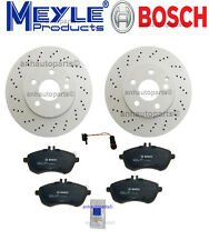 Mercedes W204 C300 Sport Sedan  PREMIUM Front Brake KIT Rotors Pads Sensor