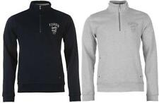Cotton Zip Neck Long Jumpers & Cardigans for Men