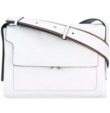 NEW MARNI Trunk White Leather Bag