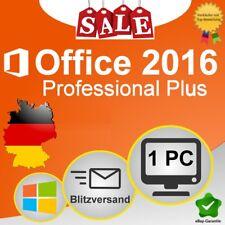 Microsoft Office 2016 Professional Plus Pro Plus 32 Bit 64 Bit ESD Key Schlüssel
