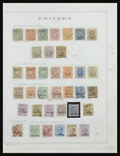 Lot 31881 Collection stamps of Eritrea 1893-1941.