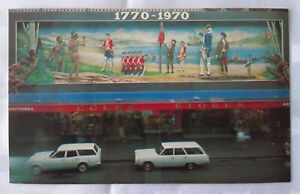 1970 Postcard - Coles Stores -  Australian Bi-Centenary Souvenir