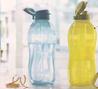 Tupperware 2 L , The BIG Bottle with handle, ECO Flip Top Water bottles - New!