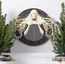 Miroir Mural Art Nouveau Figurine Morgana Buste Celtes de Femme Gothique