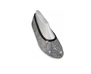 Beck Women's Silver Star Gymnastics Shoes, Black (Schwarz 02), 5 UK