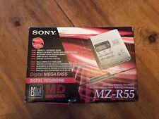 Sony MD Walkman *BNIB* Portable Minidisc Recorder MZ-R55