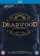 Deadwood - The Complete Collection 2015 All Regions 9 Discs
