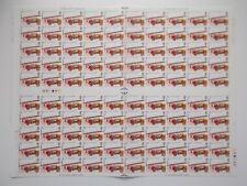 1974 Fire Set of 4 in Complete Sheets of 100 with Unfolded Gutter U/M Cat £199