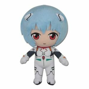 Neon Genesis EVANGELION REI Plugsuit 8-Inch PLUSH. Authentic IN STOCK!