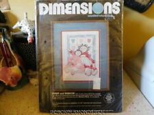 DIMENSIONS SARAH & REBECCA COUNTED CROSS STITCH KIT  * UNOPENED *