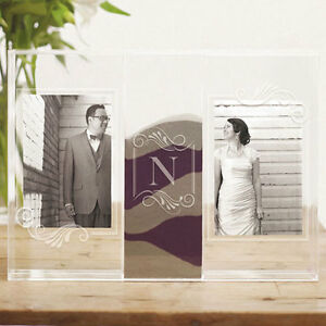 Personalized Wedding Unity Sand Ceremony Clearly Love Shadow Box Photo Frames