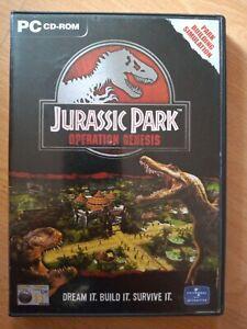 Jurassic Park: Operation Genesis - Windows PC - Complete - CD-ROM - Original
