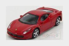 Ferrari 458 Italia 8C 2009 Red Burago 1:43 BU31103R