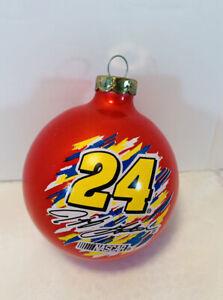 Christmas Tree Bulb Ornament. Jeff Gordon