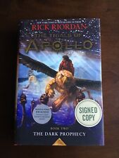 Trials of Apollo: The Dark Prophecy by Rick Riordan SIGNED 1st/1st B&N Exclusive