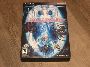 Final Fantasy XIV A Realm Reborn Collector's Edition PlayStation 3 PS3 Complete