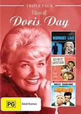 Films Of DORIS DAY DVD 3MOVIE Midnight Lace/Do Not Disturb/Caprice BRAND NEW R4
