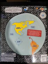 Geography Inflatable World Map Educational Kit Ages 5+ PreK-3rd Grade School