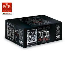 Set da 6 Pezzi bicchiere acqua cocktail Vetro Cristallo tattoo RCR