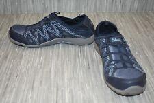 **Skechers Web of Ties (49574) Slip On Shoe - Women's Size 9.5 - Blue