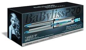 "Babyliss Pro Nano Titanium Prima 3000 1.25"" Flat Iron BABSS3000T"