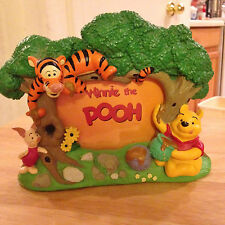 Disney Winnie the Pooh & Friends Photo Frame Good Con Pre Owned Label Missing