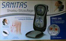 Sanitas Shiatsu Sitzauflage SMG 245 Massagesitzauflage Massage OVP beheizt