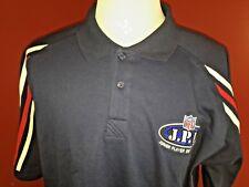 NFL Football JPD Navy Blue Golf Polo Shirt Mens 2XL Junior Player Development