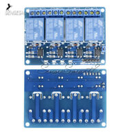 DC 12V 4-Channel Relay Module Optocoupler For Arduino PIC ARM AVR DSP HD23L ST