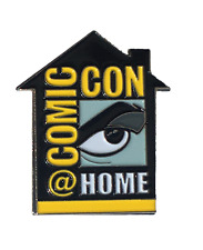 Official 2020 San Diego Comic Con SDCC COMIC-CON@HOME Enamel Pin Limited to 1000