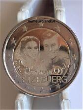 DISPO 2 euro LUXEMBOURG 2021 Commémo Grand Duc Henri. NEUVE. Envoi en suivi.