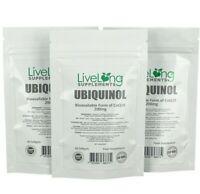 Pure Ubiquinol 200mg High Strength Softgels (Bioavailable CoQ10) Reduced Q10