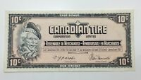 1974 Canadian Tire 10 Ten Cents CTC-S4-C-CM Circulated Money Banknote E147