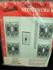 Bucilla Nutcracker Drum Switch Plate Cover Kit VTG 1968 New Christmas Jewel Easy