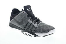 Nike Free Tr 6 Print Womens Black Gray Low Top Athletic Cross Training Shoes 7