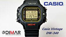 VINTAGE CASIO DW-340 QW.1000 WR.300 ANS 80 -UTILISÉ