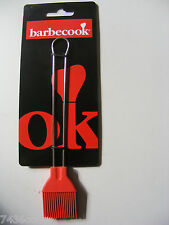 Barbecook Basting Brush, Silicone / Stainless Steel, 223.0250.000, BNIP