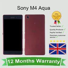 Sbloccato Sony Xperia M4 Aqua Telefono Cellulare Android-Corallo 8GB